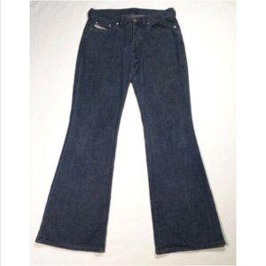 DIESEL Women Daze Flared Jeans Button Fly 1736E1M